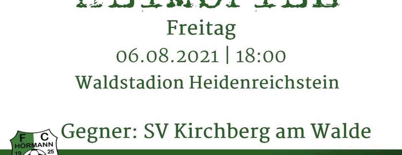 HEIMSPIEL gegen SV Kirchberg am Walde